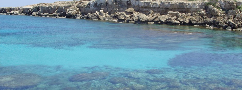 The crystal blue waters of Cyprus!