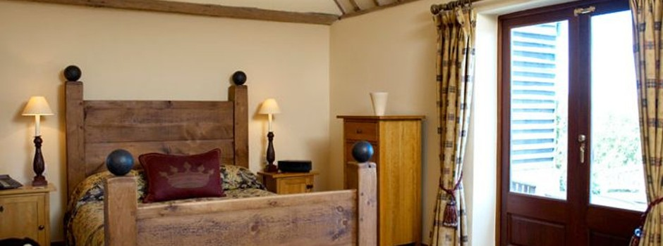 A luxury suite at Coltsfoot Country Retreat