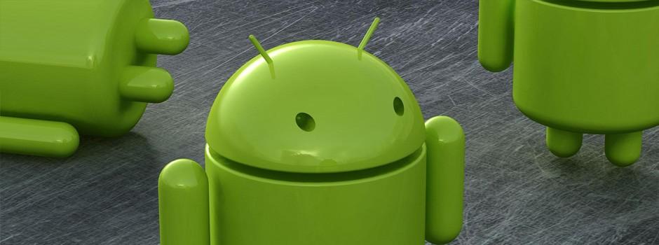Google Android - Little green men