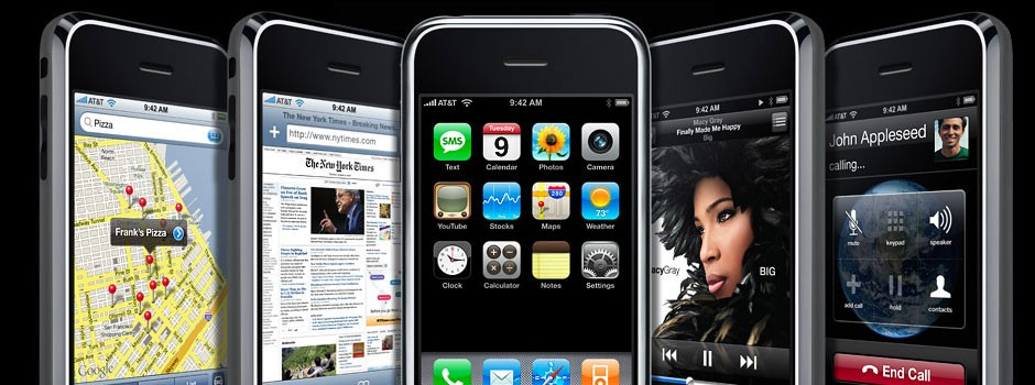The iPhone 4 ... The latest device from Apple
