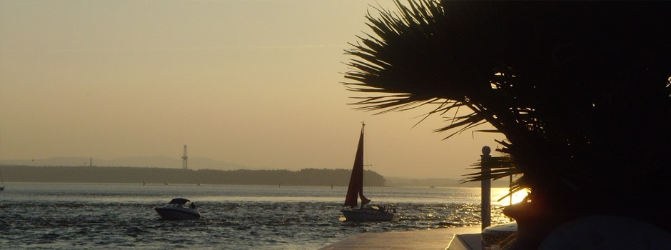 Sunset in Sandbanks, Dorset, 2008