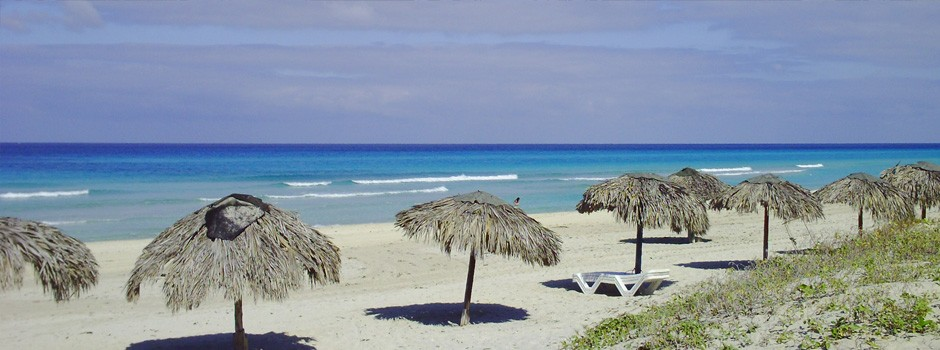 White Sands of Varadero beach in Cuba 2011